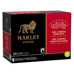 marley coffee one love kcup